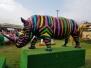 Ippopotami e rinoceronte