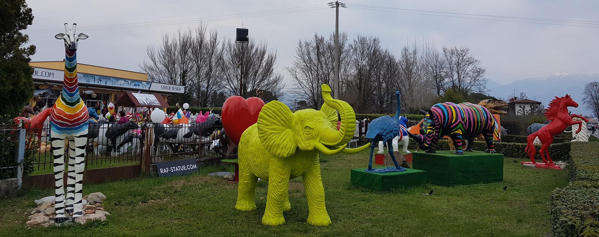 Animali Da Giardino In Plastica.Raf Statue Com Statue In Vetroresina